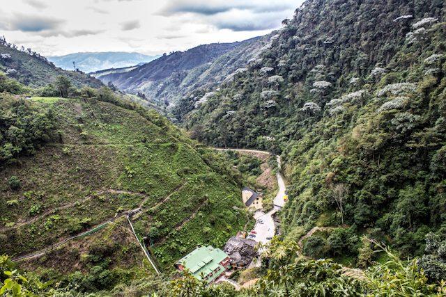 Risaralda Santa Rosa de Cabal Termales Vista Desde Montañas