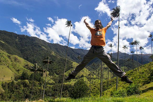 Salento Quindio Valle De Cocora Salto