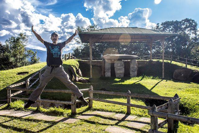 San Agustin Parque Arqueologico Salto