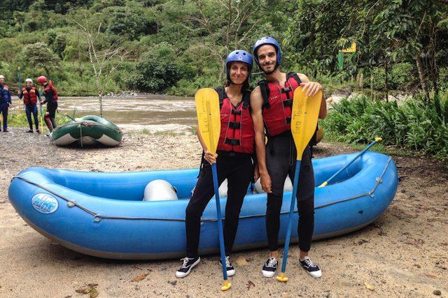 Baños Geotours Rafting