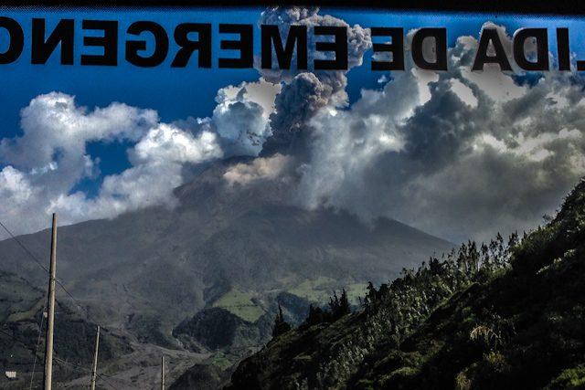 Baños Tungurahua Salida Emergencia