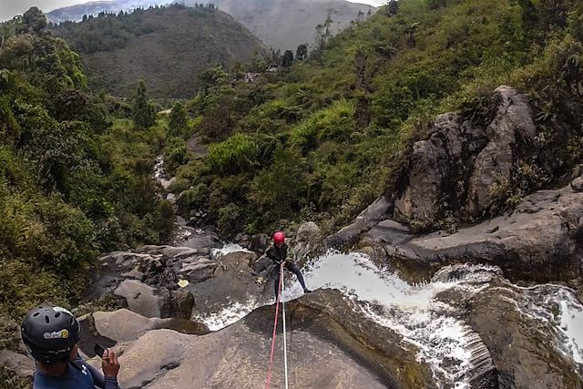 Baños Wonderful Ecuador Canyoning