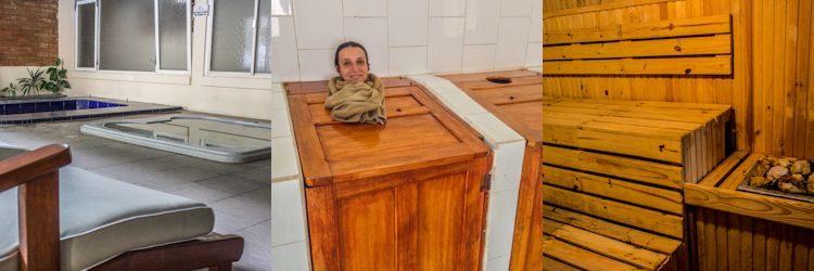 Jacuzzi O Baño Turco:Qué hacer en Baños, aventura, aguas termales, baños cajón