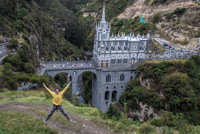 Ipiales Santuario Nuestra Señora de las Lajas Salto Rivendel