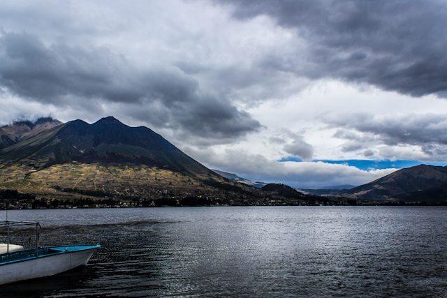 Otavalo Laguna de San Pablo