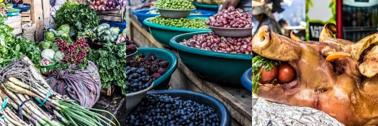 Otavalo Mercado Comida