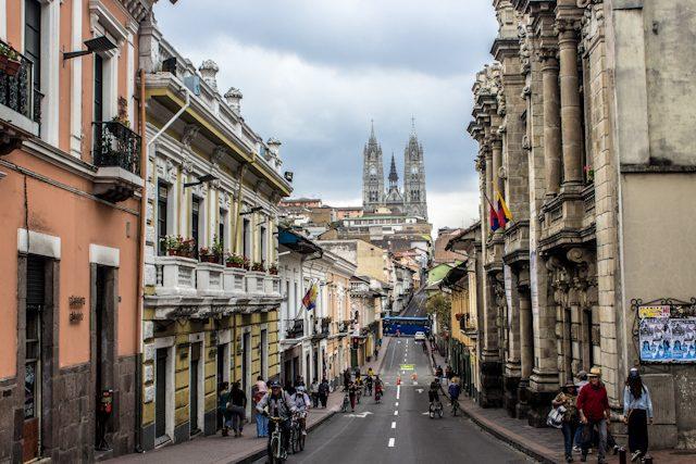 Quito Centro Historico Ciclovia