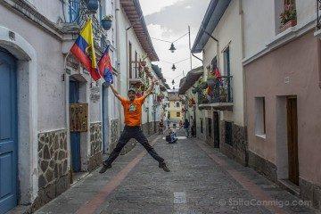 Quito Centro Historico Colonial Salto