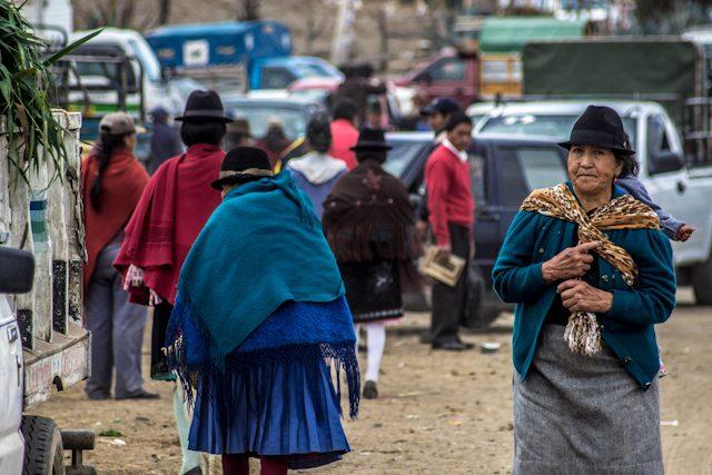 Quito Saquisili Mercado Mujeres