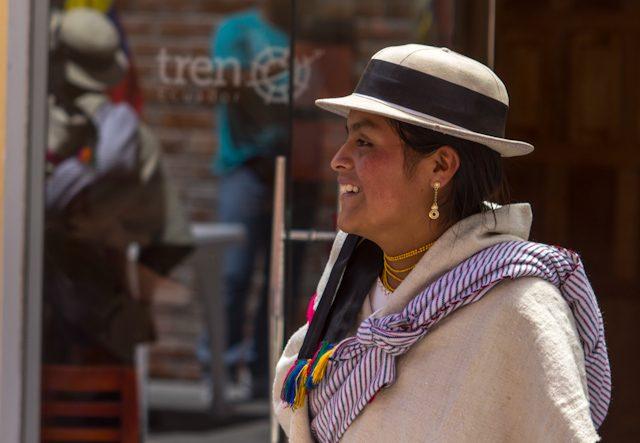 Riobamba Colta Tren Ecuador Llegada Sendero de los Ancestros