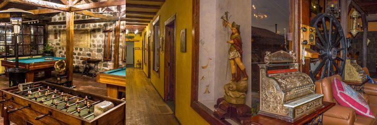 Riobamba Hosteria Andaluza Antigüedades Mosaico