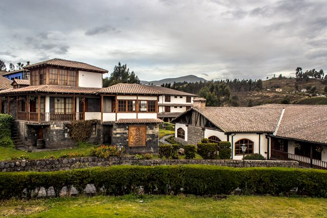 Riobamba Hosteria la Andaluza Exterior