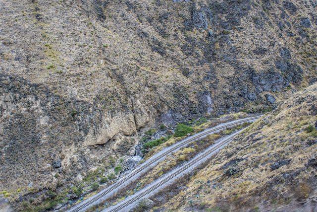 Riobamba Tren Ecuador Nariz Del Diablo Niveles Via