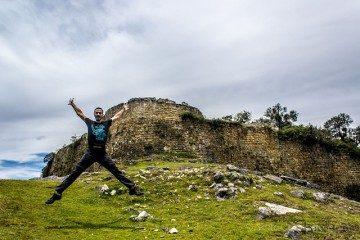 Chachapoyas Fortaleza Kuelap Exterior Salto