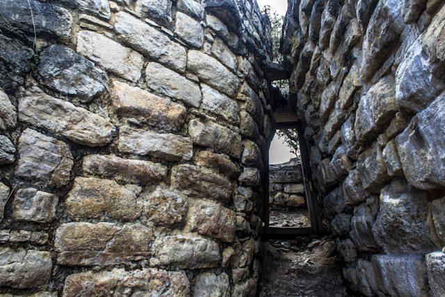 Chachapoyas Fortaleza Kuelap Entrada Embudo