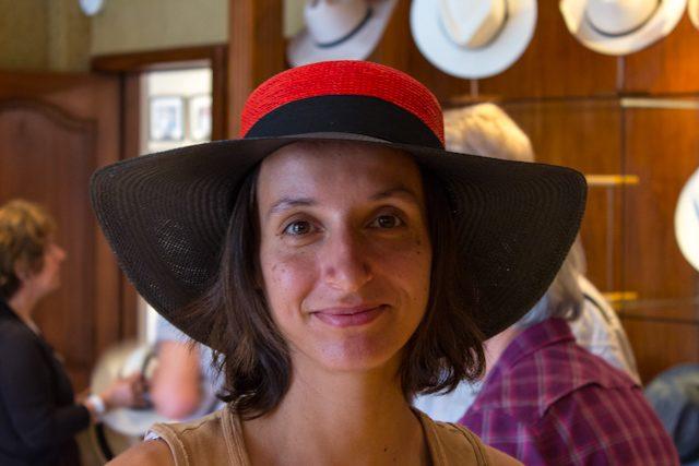 Cuenca Homero Ortega Sombrero Paja Toquilla Panama Hat Mujer