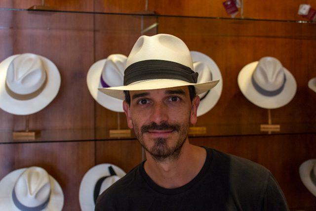 Cuenca Homero Ortega Sombrero Paja Toquilla Panama Hat