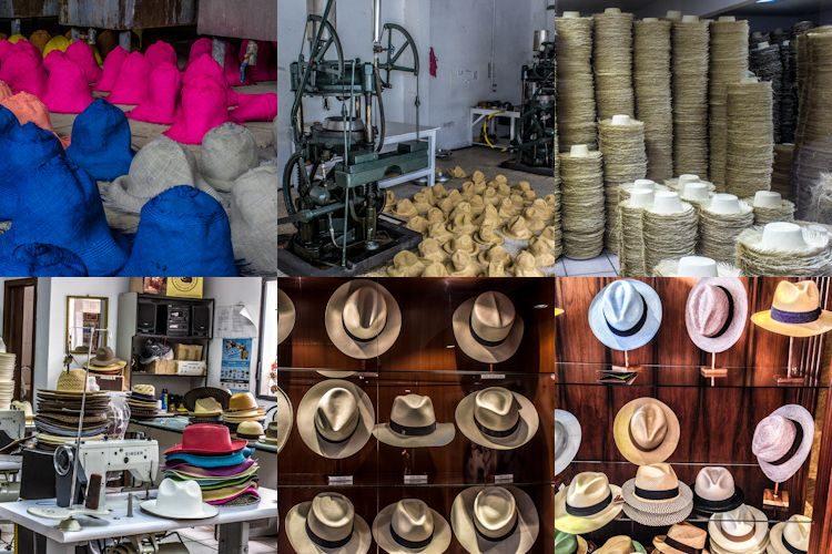 Cuenca Sombrero Panama Paja Toquillo Homero Ortega Mosaico