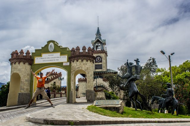 Loja Monumento Puerta De La Ciudad Salto