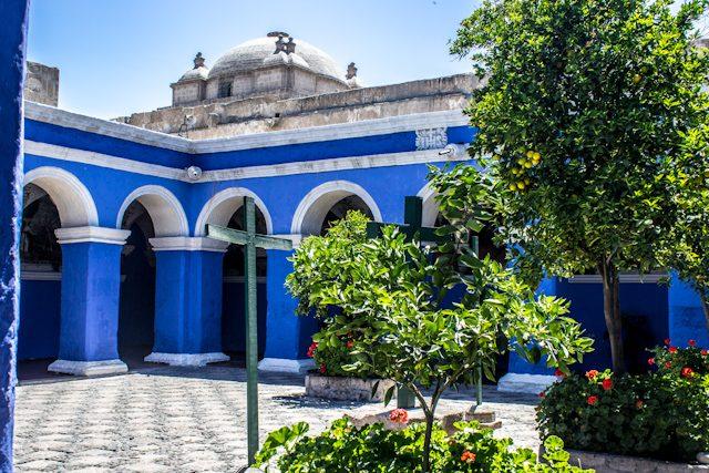 Arequipa Monasterio Santa Catalina Patio Azul