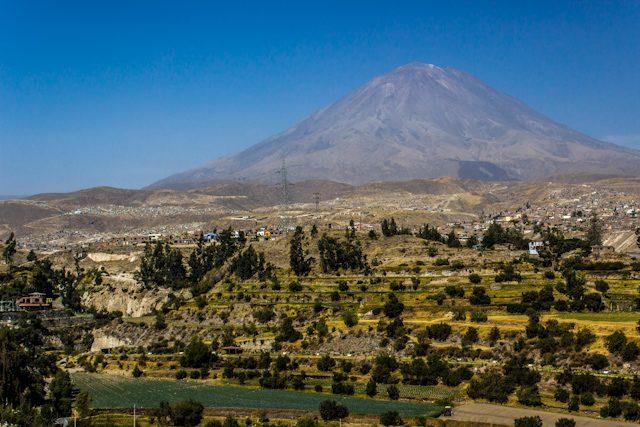 Arequipa Volcan Misti Bus Turistico