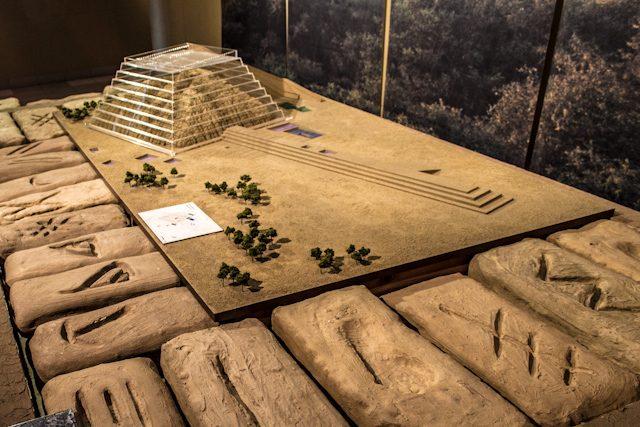 Chiclayo Museo Nacional Sican Maqueta Huaca el oro