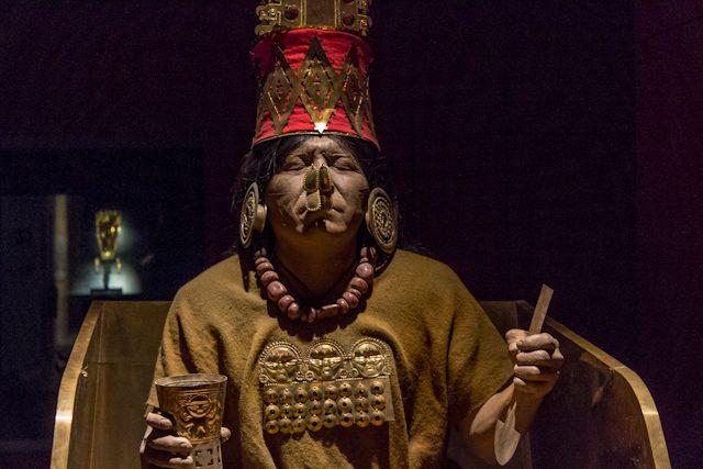 Chiclayo Museo Nacional Sican Maqueta Tumba Este Senor Reproduccion