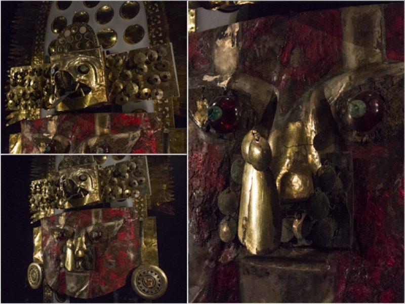 Chiclayo Museo Nacional Sican Mascara Funeraria Mosaico