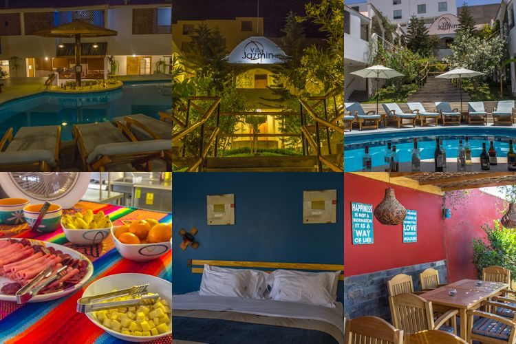 Ica Hotel Villa Jazmin Mosaico