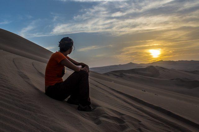 Ica Huacachina Duna Desierto Puesta de Sol