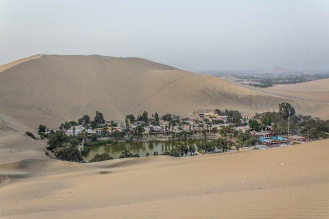 Ica Huacachina Laguna Oasis Desierto