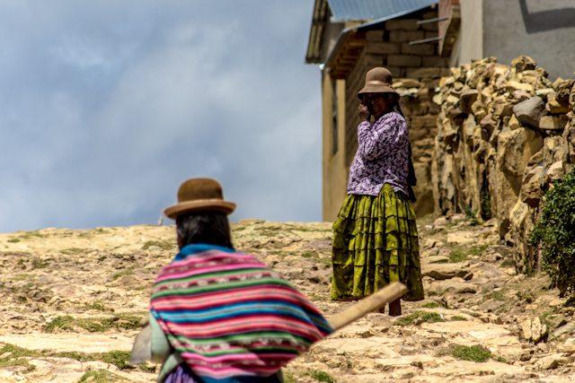 Isla del Sol Cholitas
