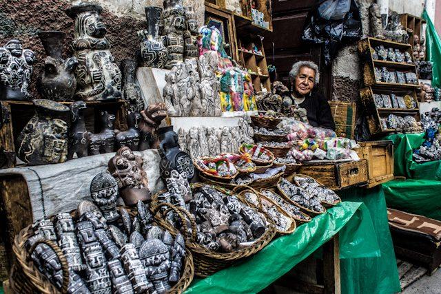 La Paz Calle Brujas Tienda Puesto Chiflera