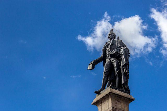 La Paz Centro Historico Estatua Murillo