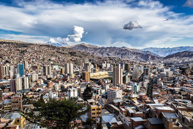 La Paz Vista Ciudad Killi Killi