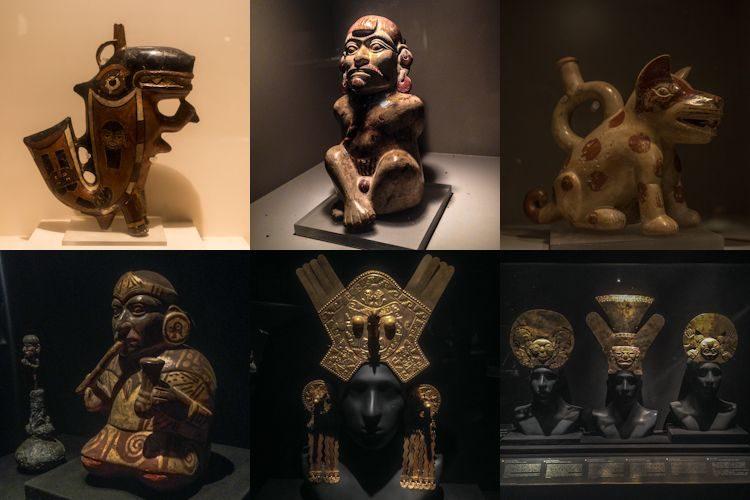Lima Museo Larco Ceramica Mochica