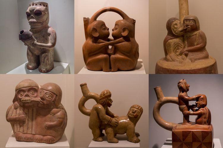 Lima Museo Larco Coleccion Erotica Mochica