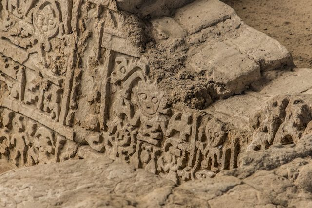 Yacimiento Tucume Relieves Sacerdotisa