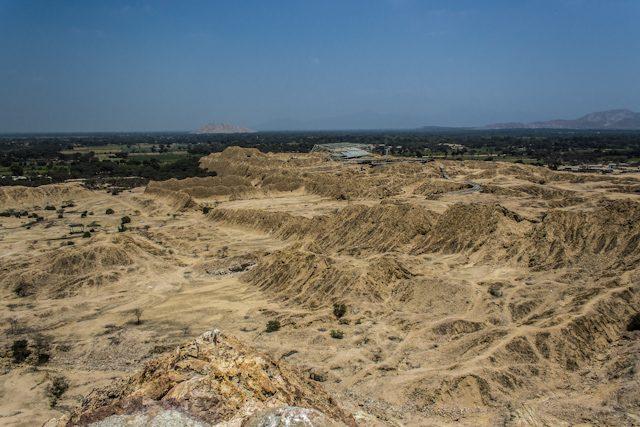 Yacimiento Tucume Vista Panoramica