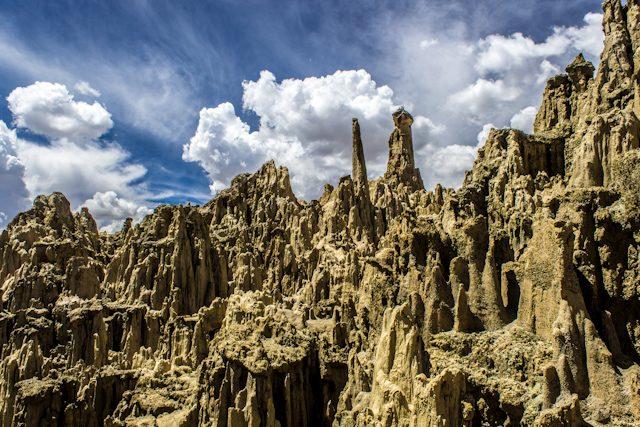 La Paz Valle de la Luna Sombrero Dama