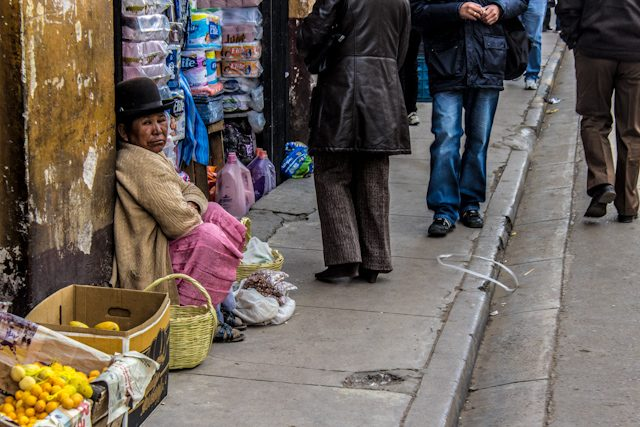 Potosi Calle Vendedora