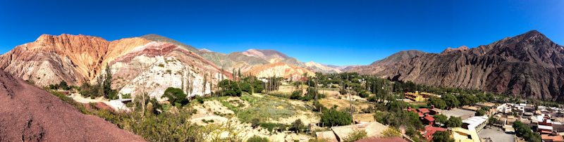 Purmamarca Cerros Colores Panorama