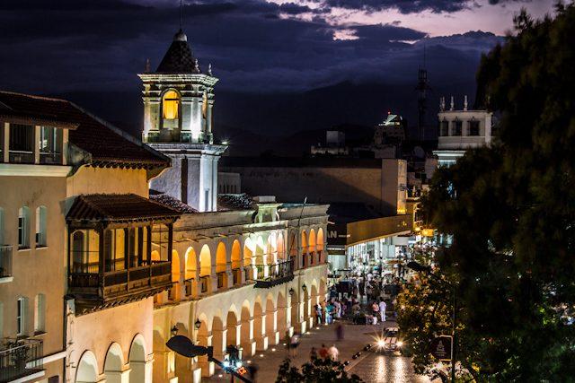 Salta Centro Plaza Nocturna