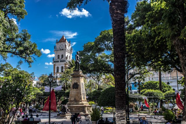 Sucre Plaza 25 Mayo