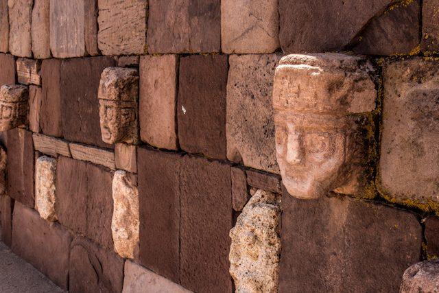 Tiahuanaco Templo Templete Semisubterraneo Caras