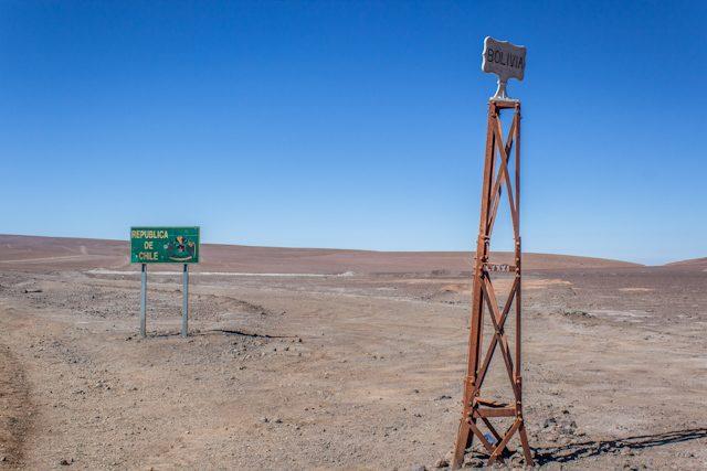 Uyuni Frontera Bolivia Chile