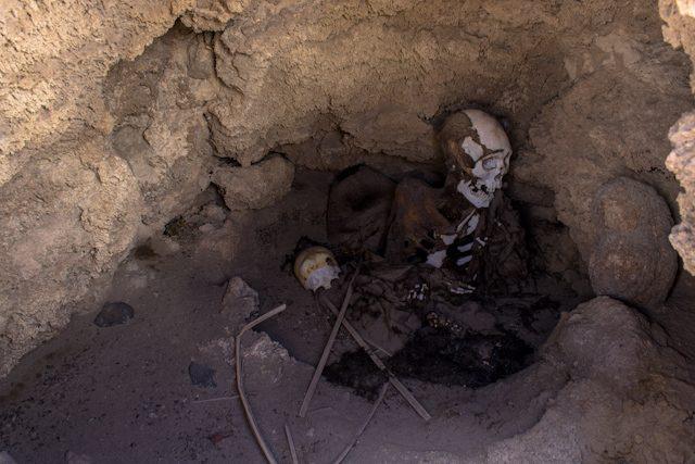 Uyuni Momia Chantani San Juan de Rosario Esqueleto
