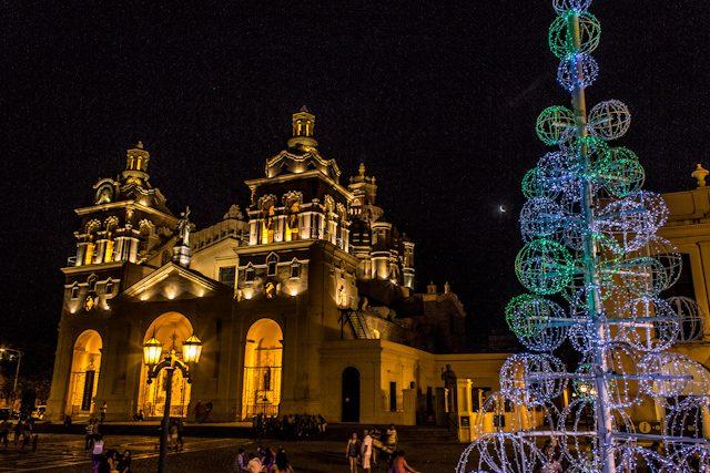 Cordoba Plaza de Armas Catedral Navidad