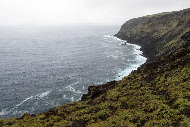 Isla De Pascua Acantilado