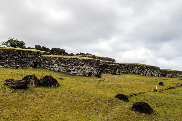 Isla De Pascua Ciudad Ceremonial Orongo Mahinatur